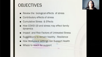 Navigating Stress Webinar - June 4, 2020